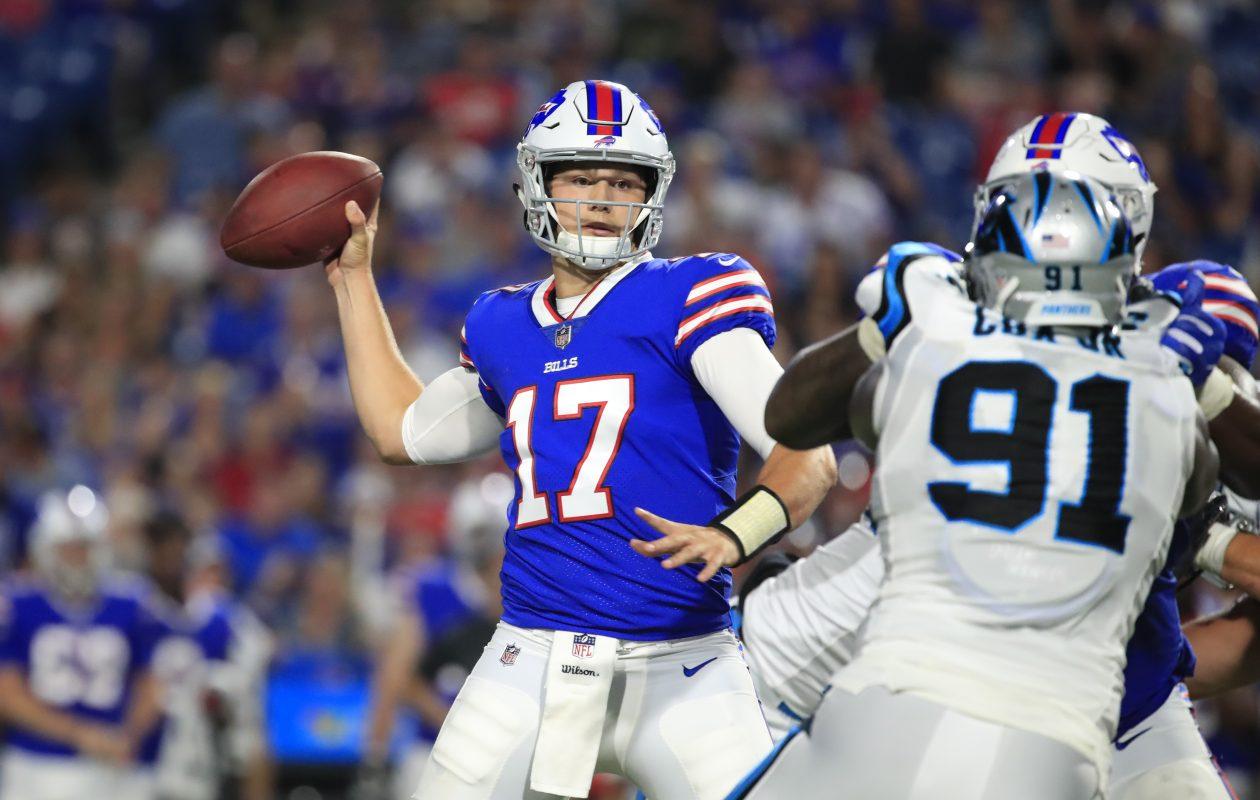Bills rookie quarterback Josh Allen (Harry Scull Jr./Buffalo News)
