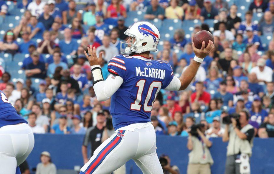 quality design b0745 123b6 Bills trade quarterback AJ McCarron to Raiders – The Buffalo ...