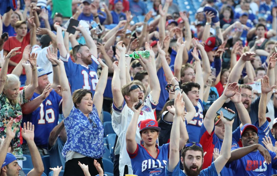 Bills fans at New Era Field. (James P. McCoy/News file photo)