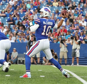 The Buffalo Bills opened their preseason Thursday night in New Era Field against the Carolina Panthers.