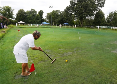 The Buffalo Croquet Club hosted its third annual 6-Wicket Invitational at Delaware Park on Friday.