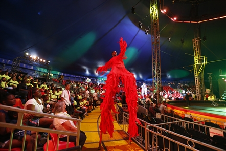 The UniverSoul Circus returns to Buffalo for performances under the big top at the Outer Harbor.