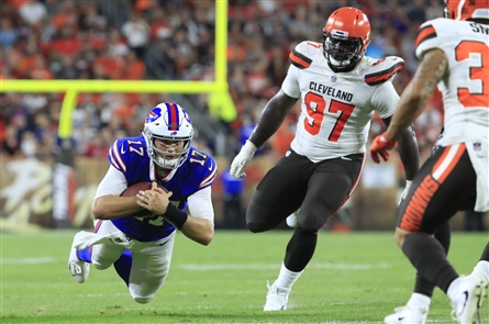 Buffalo Bills take on the Cleveland Browns Friday, Aug. 17, 2018, in preseason action at FirstEnergy Stadium in Cleveland.
