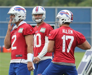 Buffalo Bills practice, Aug. 22