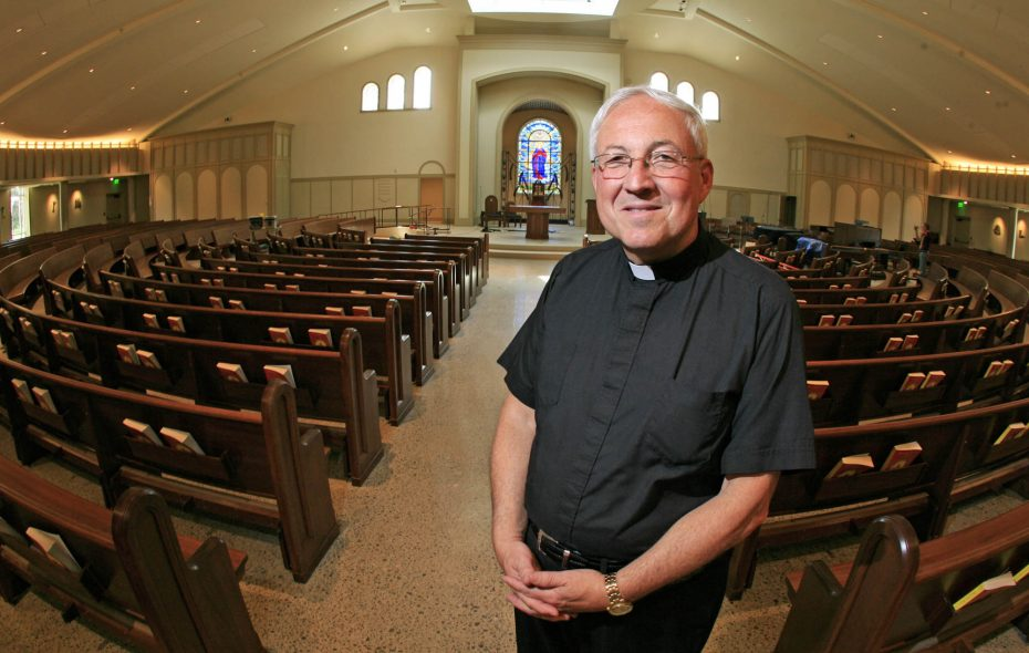 The Rev. Robert Yetter, pictured in 2010 at St. Mary's in Swormville. (Harry Scull Jr./News file photo)