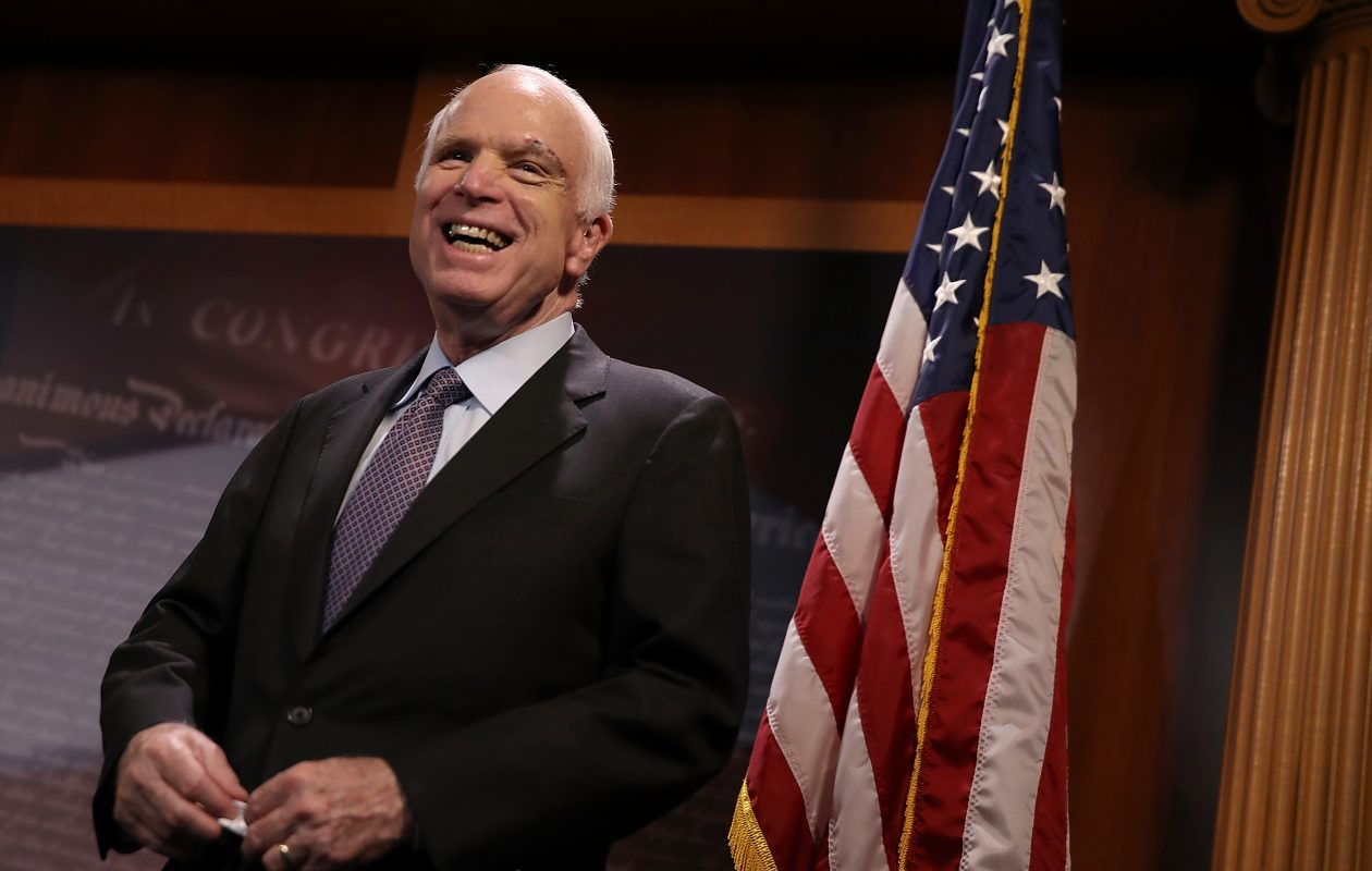 Sen. John McCain, R-Arizona, died at 81. (Getty Images)