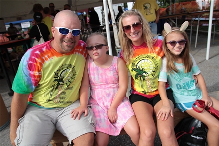 Lancaster Village Events united many of the village's restaurants and other vendors on Central Avenue on Friday, Aug. 10, 2018. The food-focused event, with a popular beer tent, continues from 11 a.m. to 11 p.m. Saturday.