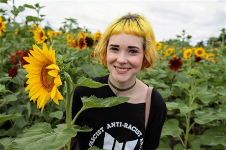The wildly popular Sunflowers of Sanborn drew a crowd on Saturday, Aug. 18, 2018, where more than 50 vendors set up in the Danielewicz Farm's sunflower fields to showcase their wares. See who traveled north to experience the fleeting flowers.
