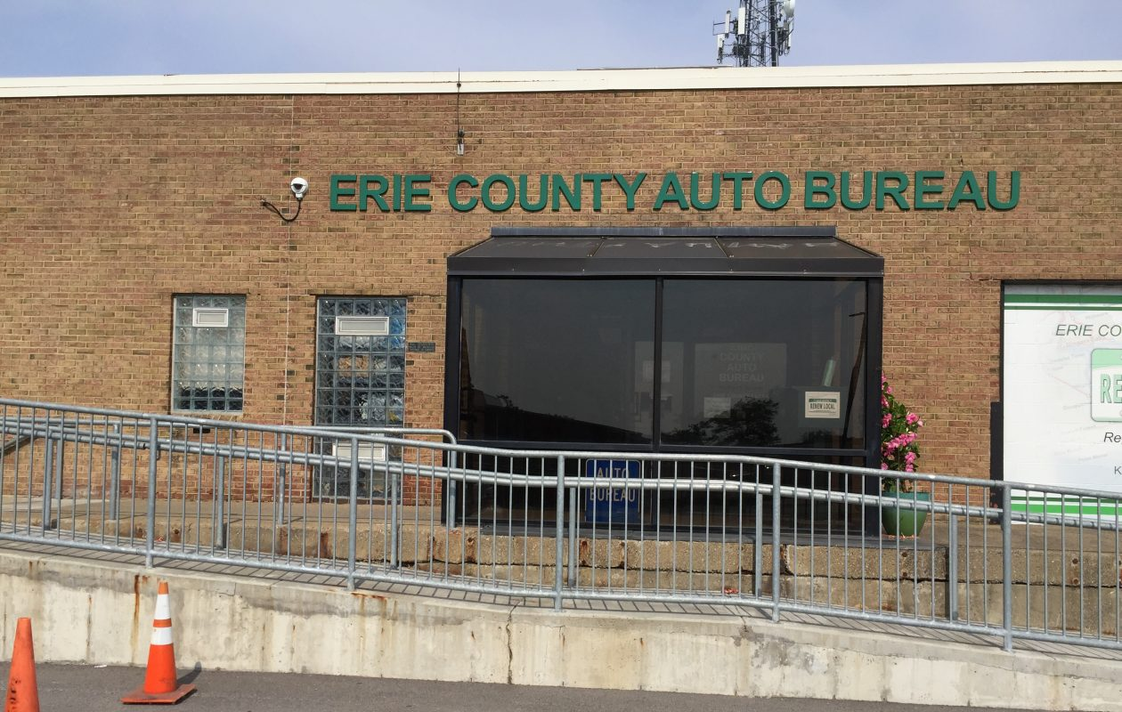 The Erie County Auto Bureau at Erie Community College South may be moving. (Barbara O'Brien)