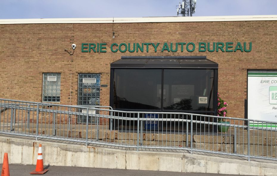 The Erie County Auto Bureau at Erie Community College South is looking for more space, but the problem is in a state policy that penalizes localities when New Yorkers conduct transactions on the internet. (Barbara O'Brien/Buffalo News)