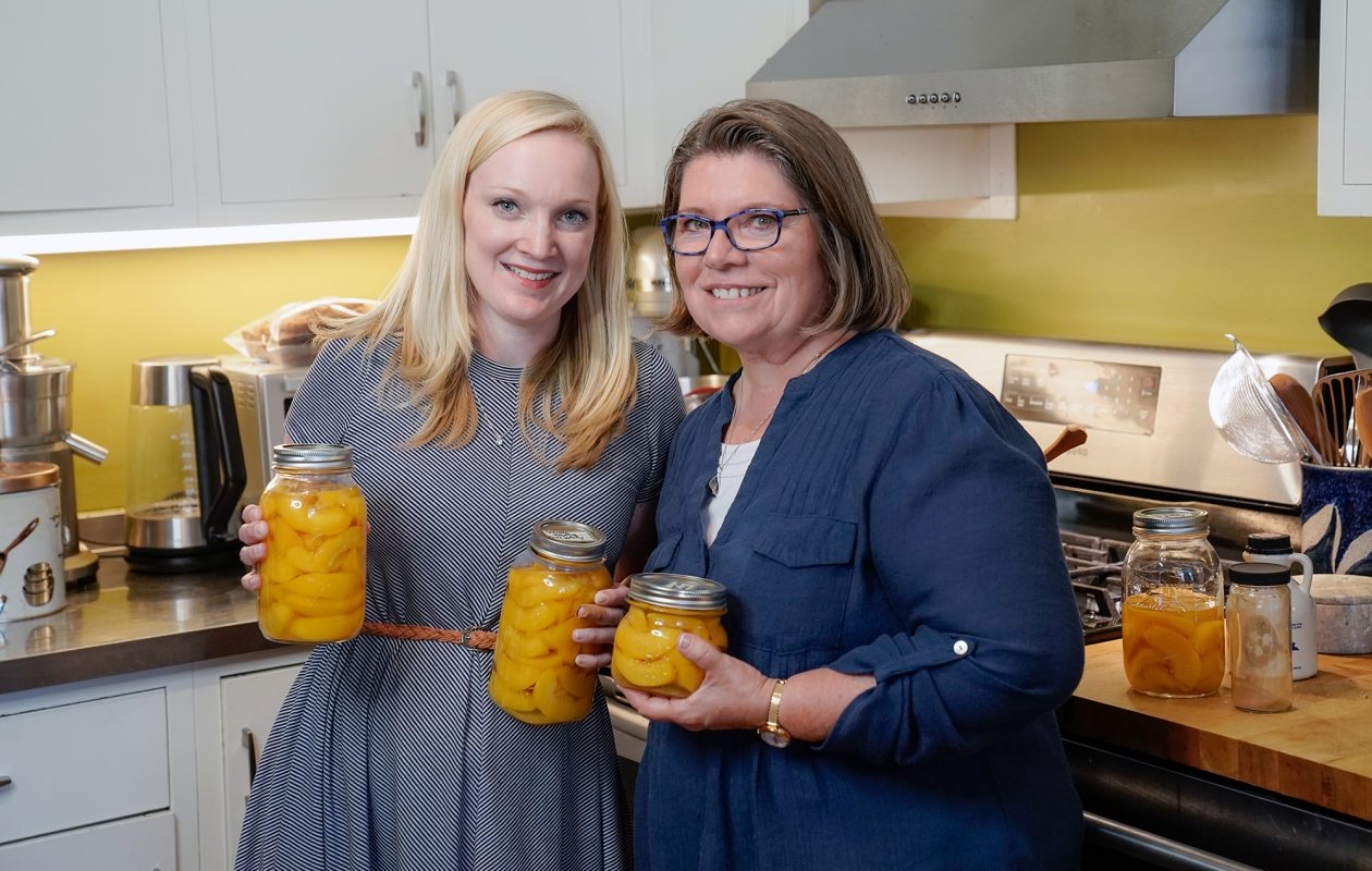 Canning peaches is an August tradition Katie Baczynski's mom, Diane Noel, comes back to Buffalo for each summer. Top. Katie's great grandmother, Katherine. (Dave Jarosz)