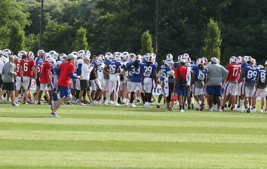 """The Buffalo Bills gave their fans an inside look at training camp with the team-produced """"Embedded"""" series. (James P. McCoy/Buffalo News)"""