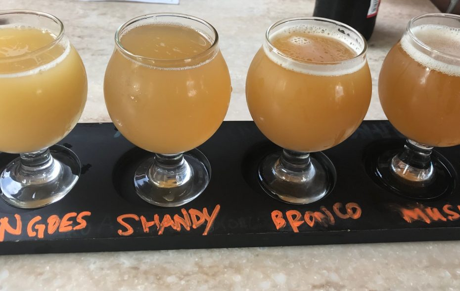 You can still enjoy a taste of summer brews at Brickyard Brewing in Lewiston.