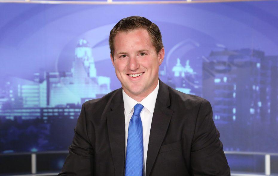 WKBW-TV (Channel 7) reporter Charlie Specht. (Photo courtesy of WKBW-TV)