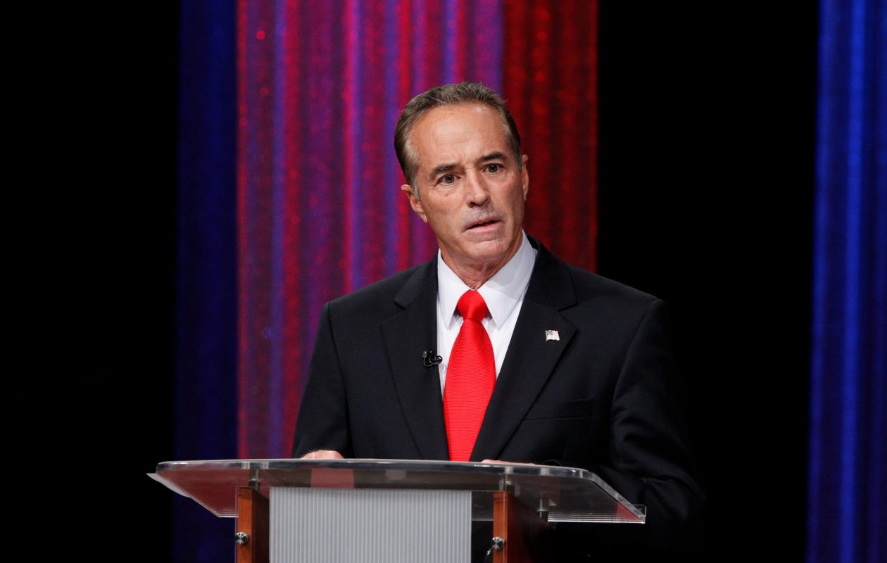 Party leaders are expected to settle on a way to remove Chris Collins from the ballot soon. (Harry Scull Jr./News file photo)