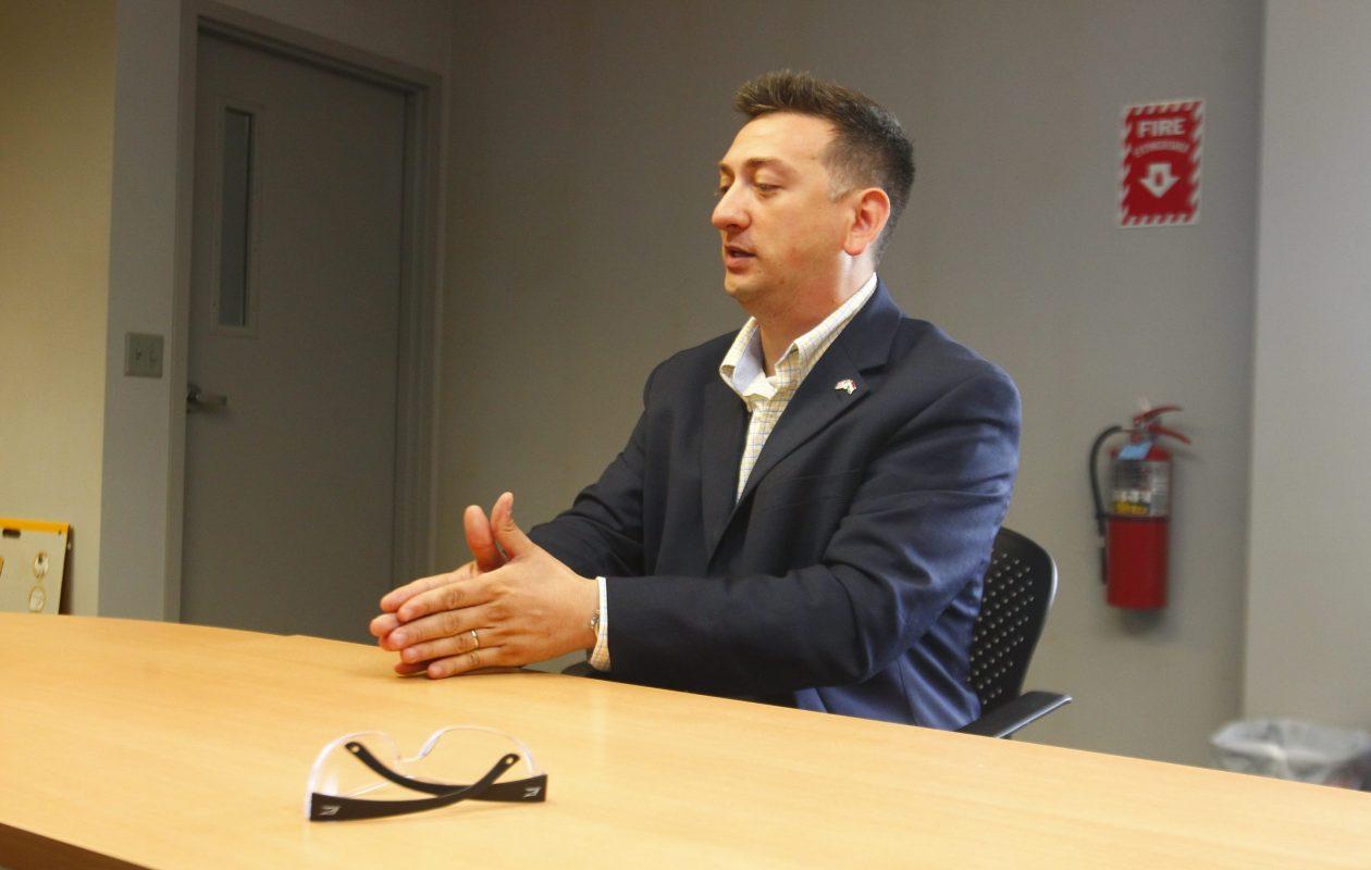 David Bellavia, shown here in 2012. (John Hickey/News file photo)