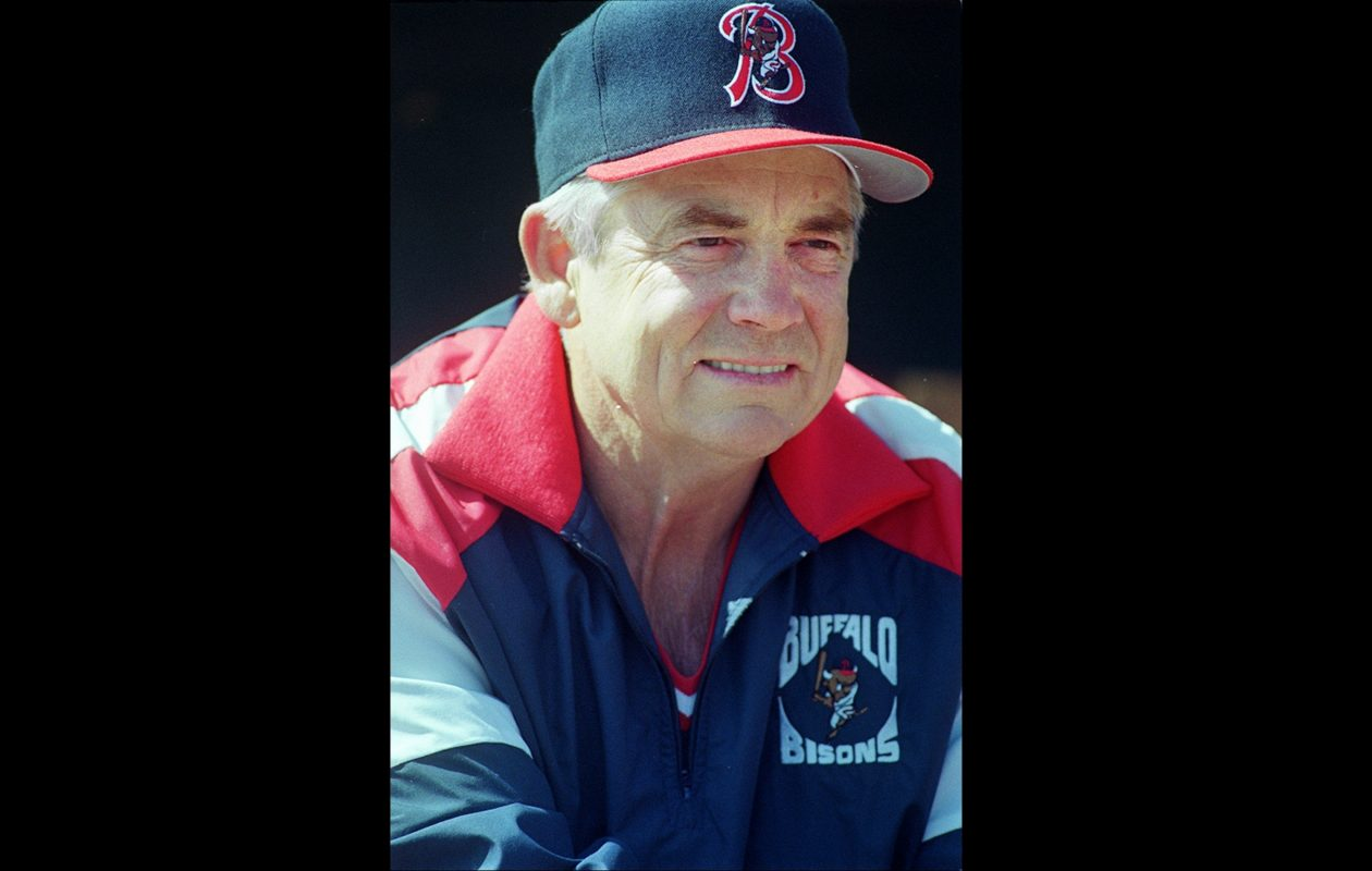 former bisons indians manager doc edwards dies the buffalo news
