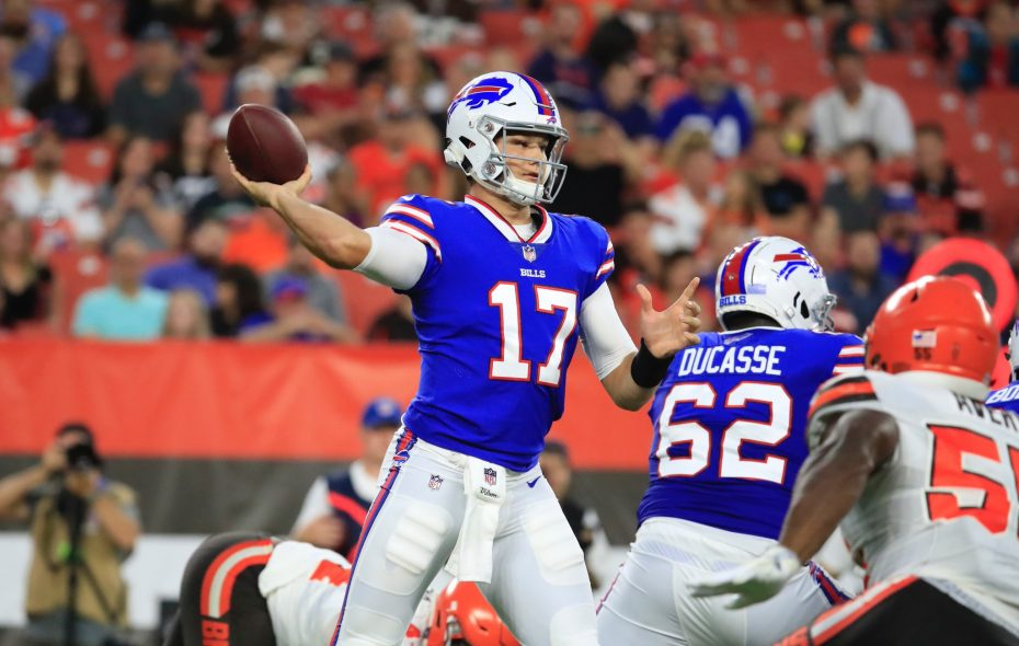 new style 41d4e eb088 Analysis: Josh Allen makes undeniable case to be Day One ...
