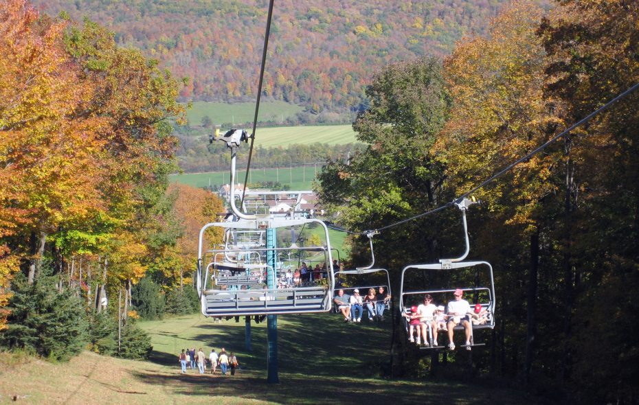 Ellicottville may be known for its scenic beauty and fun-loving festivals, but it just received a government award for sharing services. (Ellicottville Chamber of Commerce)