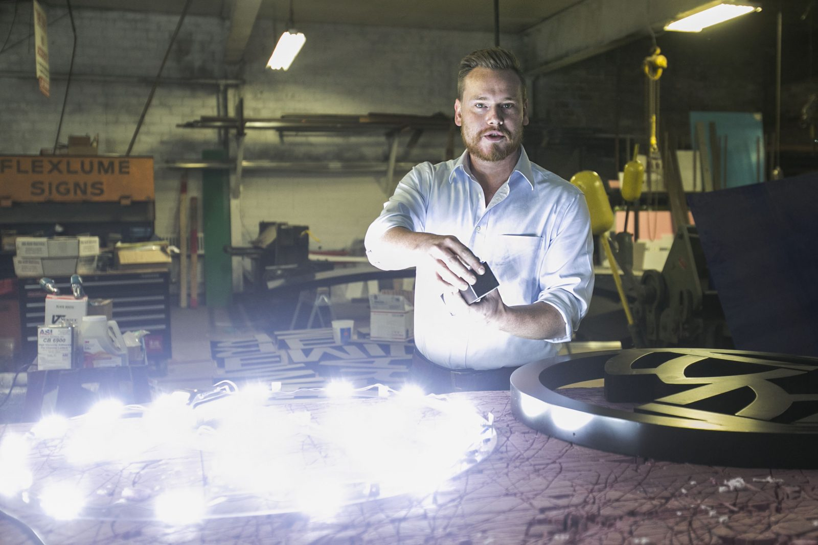 Flexlume's innovation keeps sign company shining bright for more