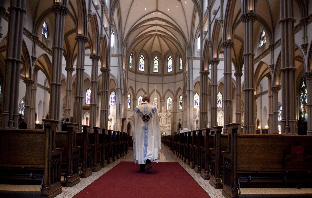 The Buffalo Diocese was sued Friday, Feb. 22, 2019 for $300 million by a woman who alleged she was sexually abused by a priest at Cardinal O'Hara High School. (Getty Images)