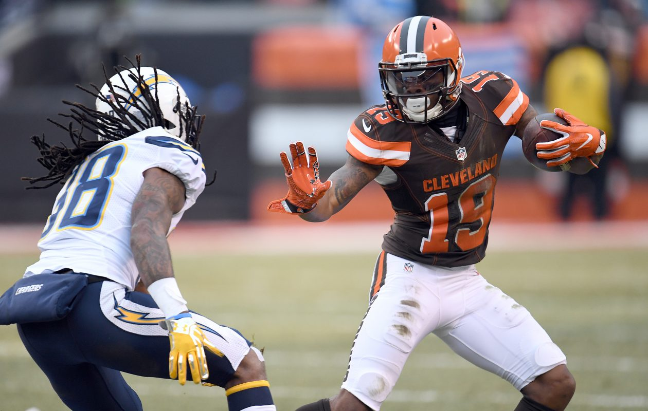 Corey Coleman was acquired by the Bills. (Jason Miller/Getty Images file photo)