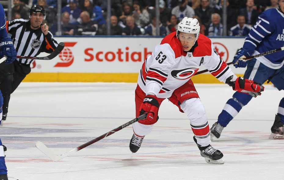 Jeff Skinner is joining the Sabres. (Getty Images)
