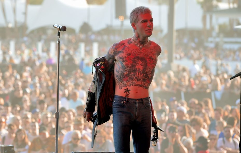 Jesse Rutherford, performing at Coachella 2018, is the lead singer of The Neighbourhood. (Kevin Winter/Getty Images)