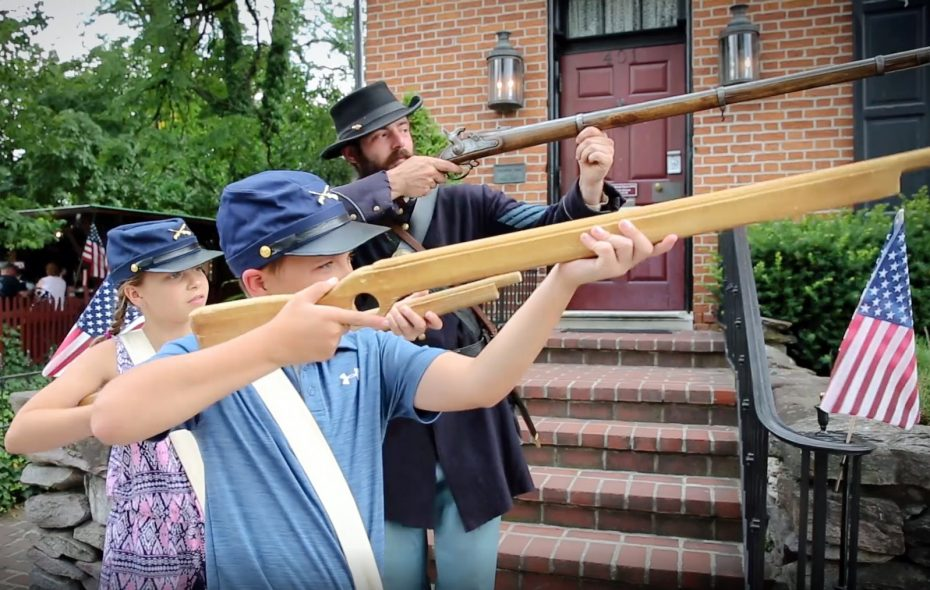 Make family memories at Gettysburg where kids can learn about a difficult period of our nation's struggles using a hands-on approach. (Destination Gettysburg)