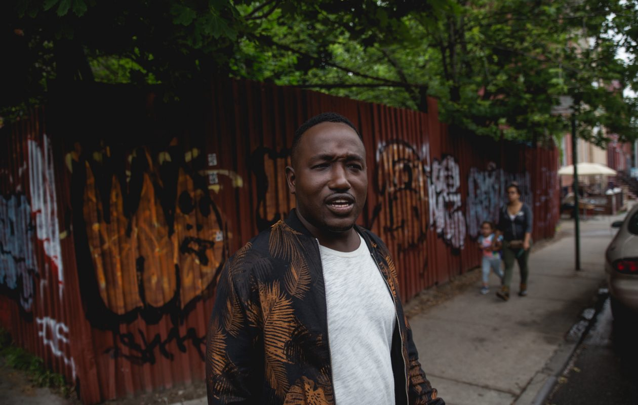 Comedian Hannibal Buress is known for taking risks, the biggest of which – in his mind – is investing his own money in productions and tech companies. (Photo by Marcus Price)