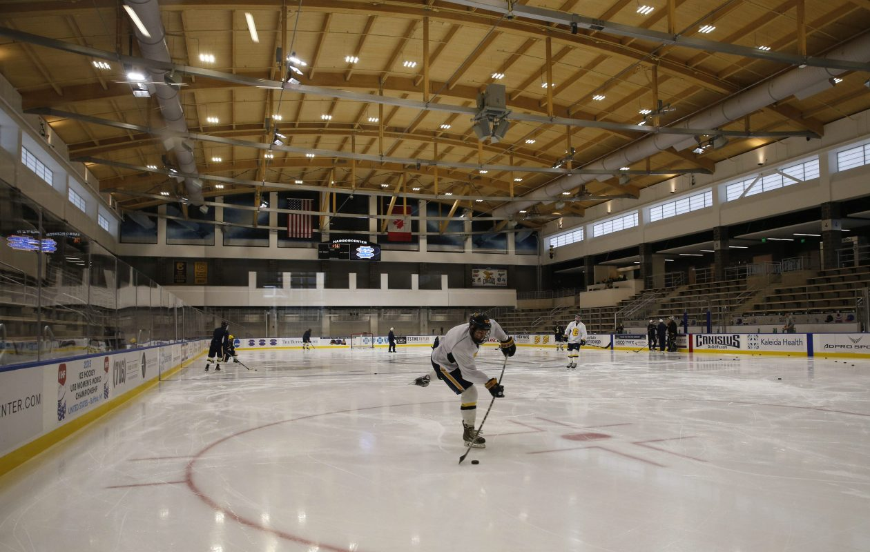 Canisius extended its lease agreement to play in HarborCenter through 2023. (Derek Gee/News file photo)