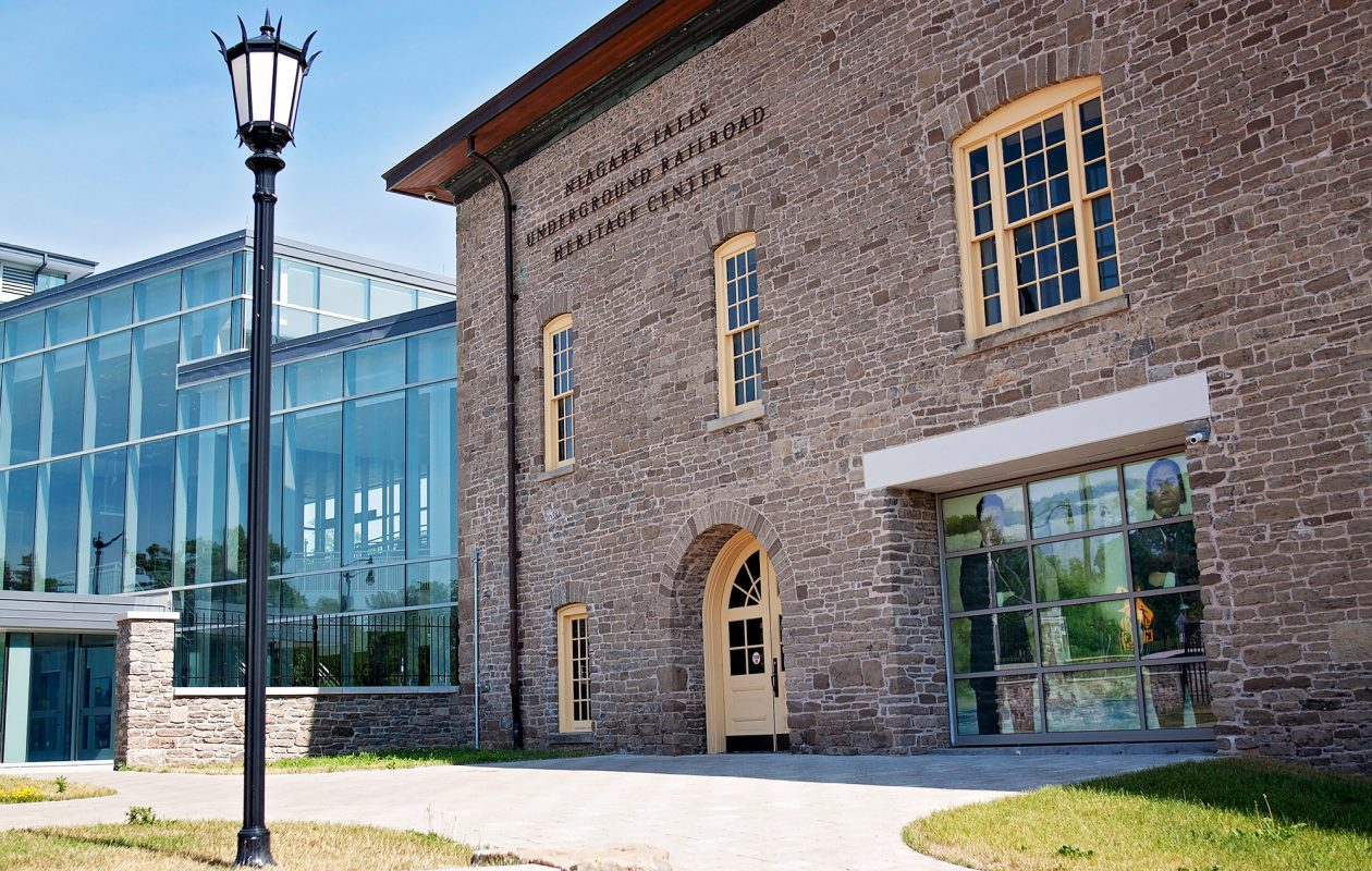 The Niagara Falls Underground Railroad Heritage Center opened earlier this year to tell the stories of escaped slaves seeking freedom in the mid-19th century. (Copyright Niagara Falls Underground Railroad Heritage Center 2018)