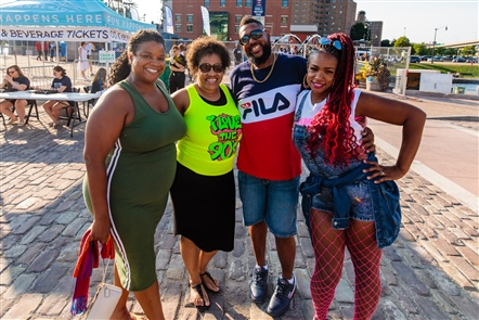Salt-N-Pepa and Naughty by Nature were the two major throwback stars to grace the Canalside stage on Saturday, Aug. 11, 2018, for the I Love the '90s Tour. See who relished the full lineup of bands.