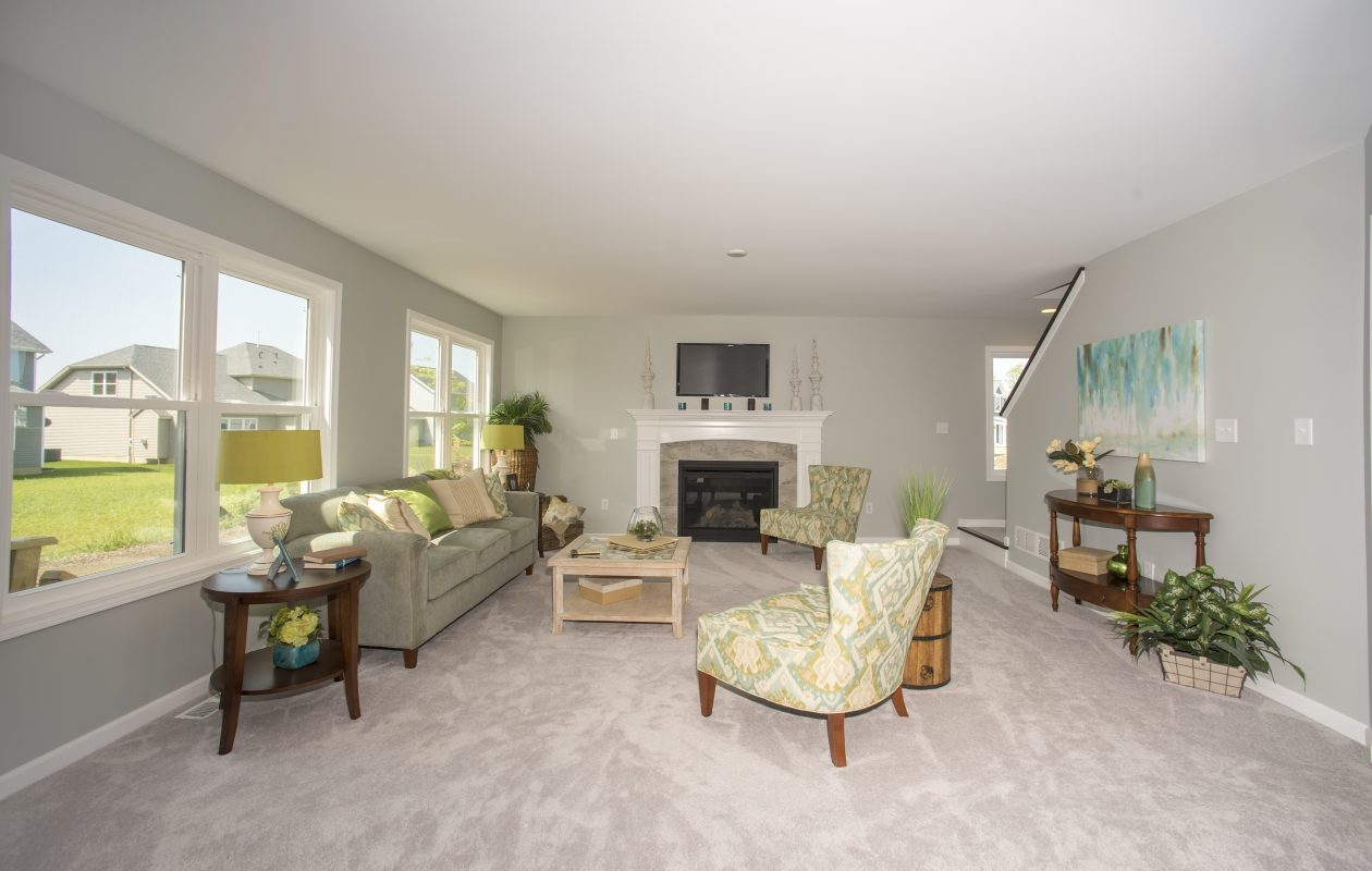 The home at 2365 Burbank Drive in Hamburg's Deer Springs community is one of six homes to tour.