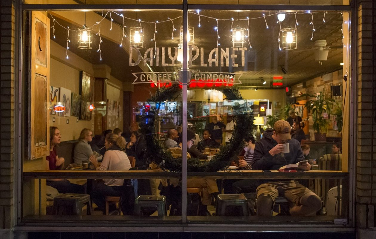 Daily Planet Coffee is a cozy spot to warm up with hot chocolate. (Valerie Sauers/Special to The News)