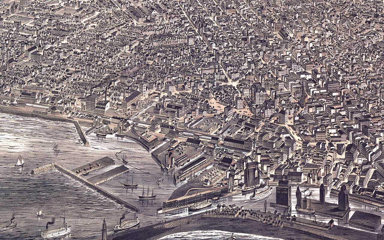 Buffalo from 1880 to Today: Explore a map of how the city has ... on