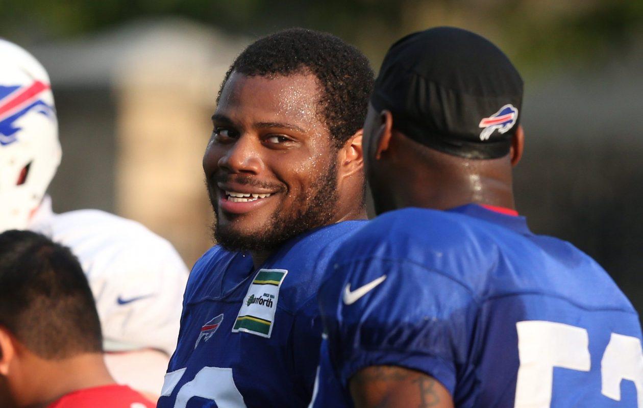 Former Buffalo Bills inside linebacker Preston Brown (James P. McCoy/News file photo)