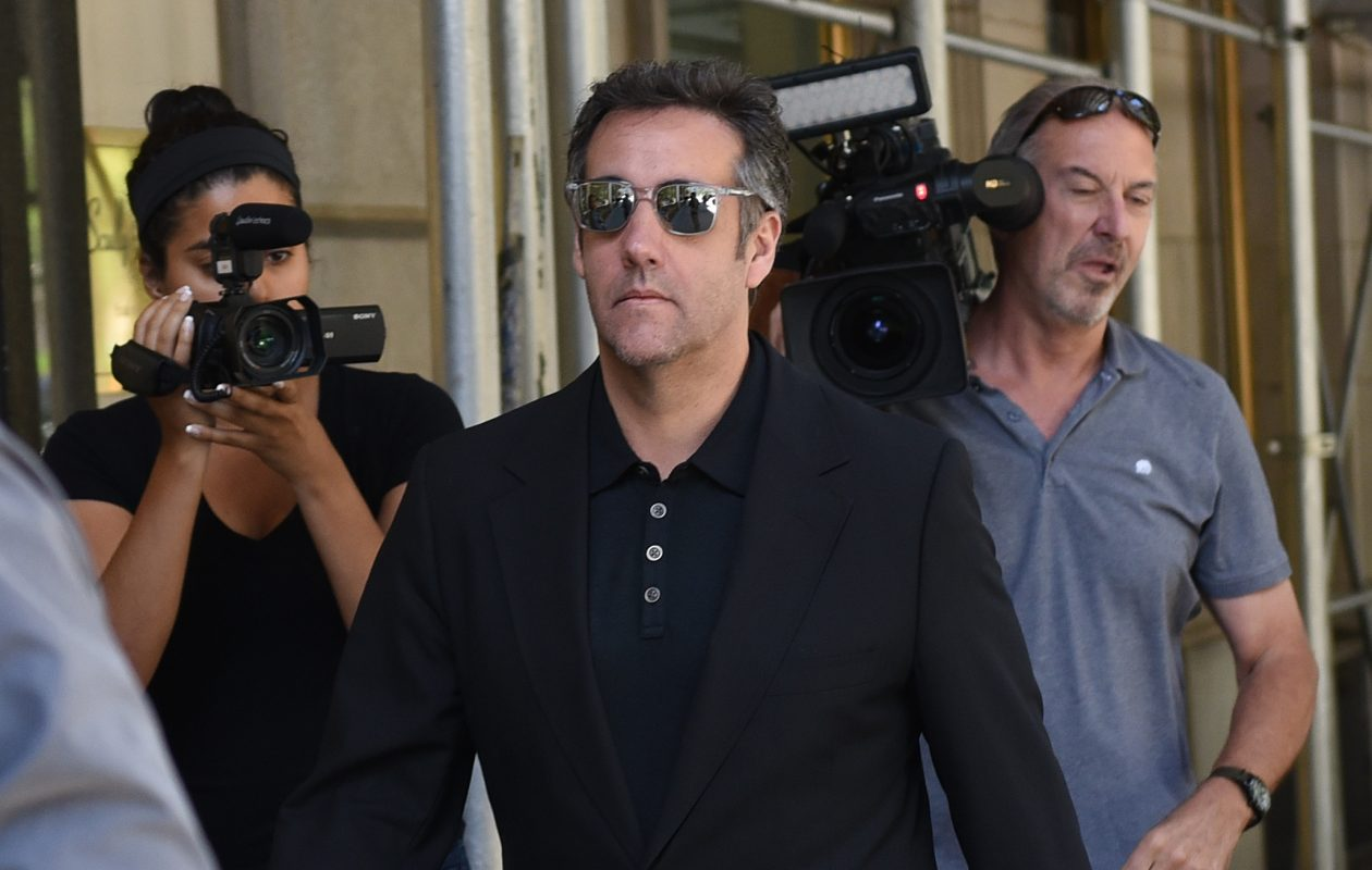 Michael Cohen is headed to prison. (Timothy A. Clary/AFP/Getty Images)