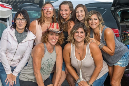 See the fans who turned out for the Miranda Lambert concert at Darien Lake Performing Arts Center - and got soaked by the rain Thursday, Aug. 17, 2018.