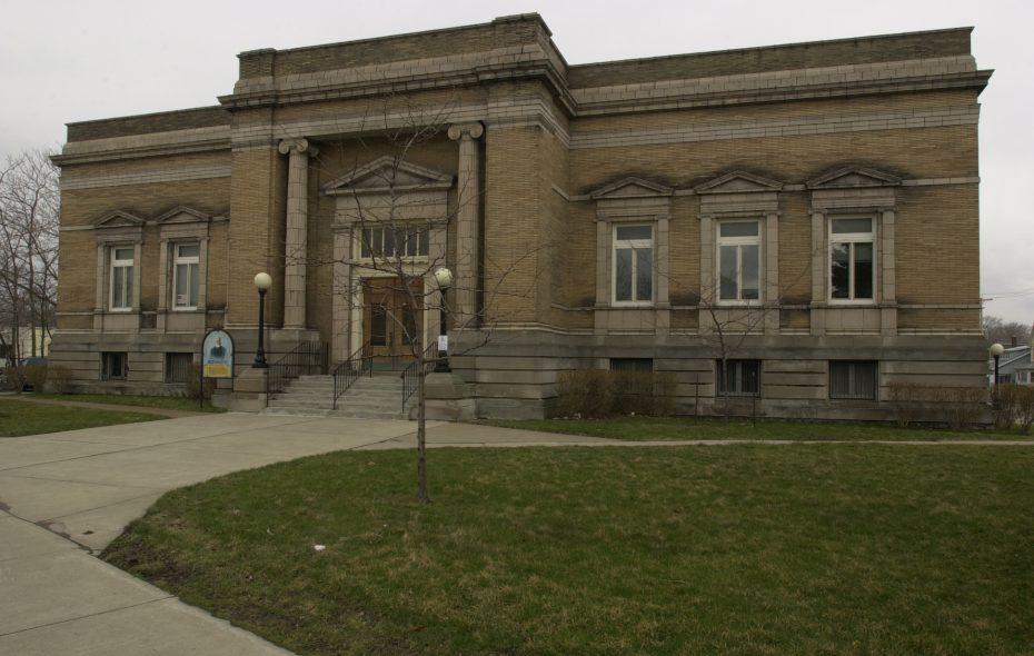 The Carnegie Building,  1022 Main St., Niagara Falls, houses the city Community Development Department. (News file photo)