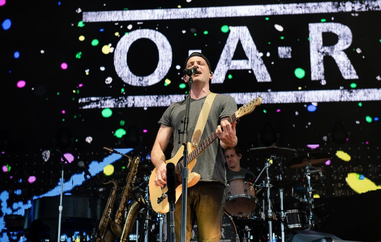 Marc Roberge performs with O.A.R. at Darien Lake in 2017. (Matt Weinberg/Special to The News)