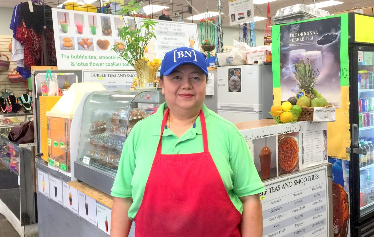 One Thammasithikoun, pictured, will be opening a restaurant near Buffalo State College with sister Vone Serixay. (Andrew Galarneau/Buffalo News)