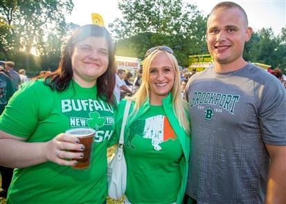 Smiles at the South Buffalo Irish Festival
