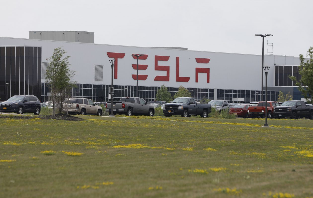 Two unions are trying to organize workers at the Tesla plant in South Buffalo. (Derek Gee/News file photo)