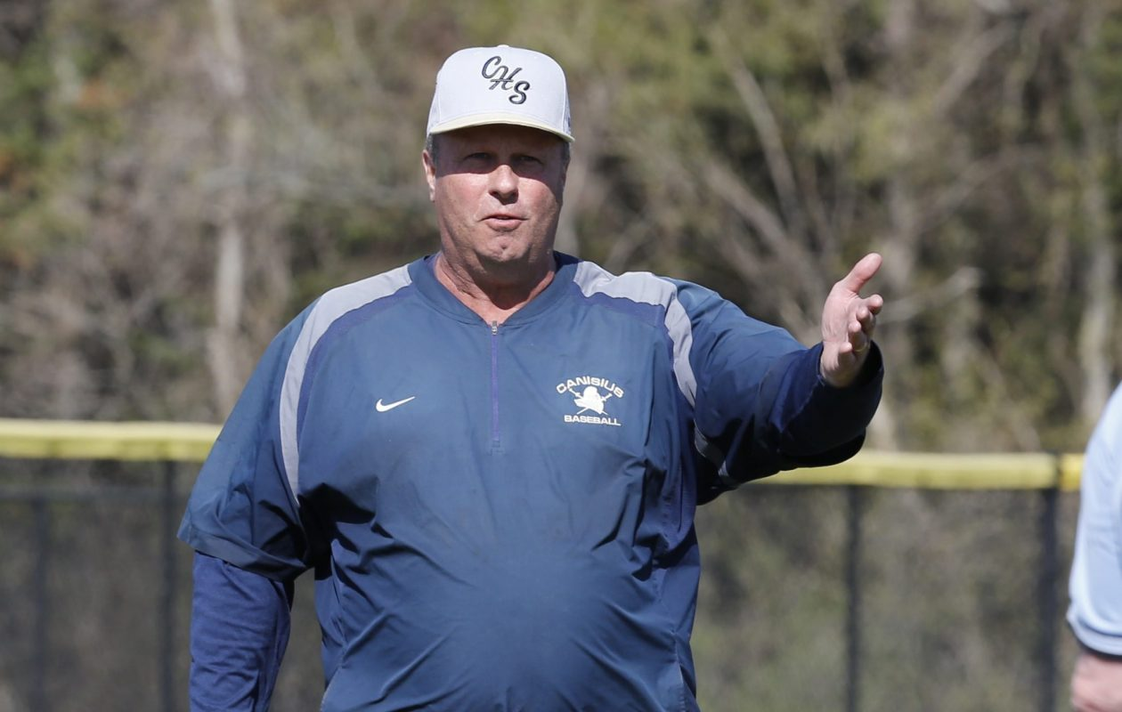 Canisius coach Bryan Tenney pictured in 2015. (Harry Scull Jr./Buffalo News)