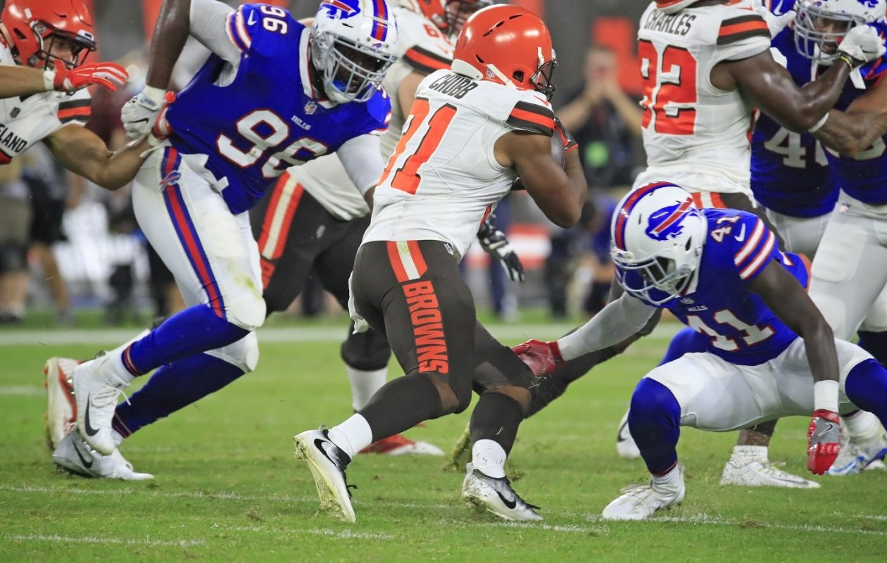 'America's Got Talent' does well here, but the highest-rated program of the summer in Western New York was easily the Bills' preseason victory over the Cleveland Browns last week. (Harry Scull Jr./Buffalo News)
