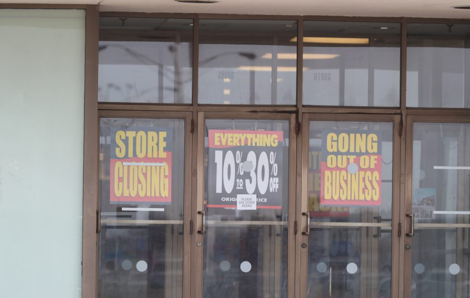 Some former Bon-Ton stores are going up for auction, including one in Lockport. (James P. McCoy/Buffalo News)