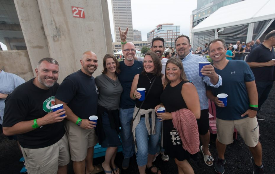 Smiles at The Mighty Mighty Bosstones at Canalside Live