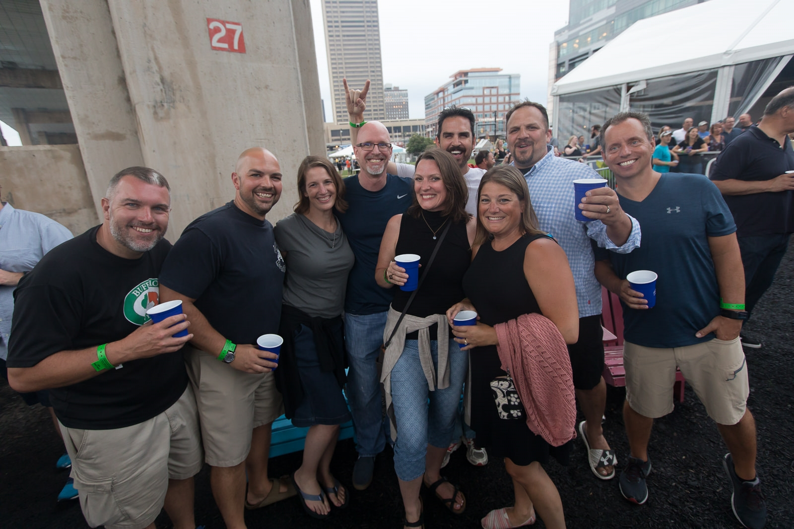 Boston ska band Mighty Mighty Bosstones, with Lowest of the Low as support, entertained at Canalside Live on Friday, Aug. 17, 2018. See the local fans who headed to the waterfront for the show.