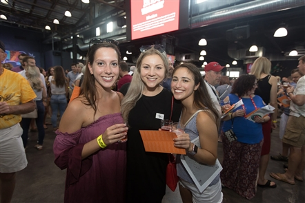 More than 40 breweries, many local but some national and international, converged upon Buffalo RiverWorks on Friday, Aug. 10, 2018, to raise money for the Buffalo Hearing and Speech Center. See who sampled brews of all kinds.